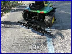 1200A Sand Trap Rake John Deere Front Plow Infield Groomer Center Scarifier
