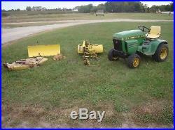John Deere 214 >> John Deere Plow 1979 John Deere 214 Lawn Tractor With