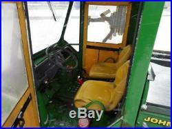 1998 john Deere 6x4 gator only 1759 hrs diesel motor, dump bed, cab, plow