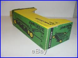 1/16 Vintage John Deere 4-Bottom Plow by ERTL WithGreen & Yellow Box