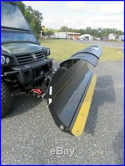2013 John Deere 825i Gator UTV Meyer Salt Spreader Sno-Way Plow 975 Hrs +Extras