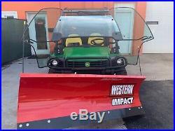 2015 John Deere GATOR 825I with POWER STEERING Brand new Hydraulic western plow