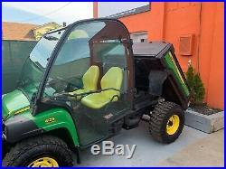 2015 John Deere Gator 825i, Cold hot air EPS, Brand new Hydraulic Western plow