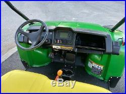 2016 John Deere Gator 855d Crew S4, Power Steering Opt. Plow And Winch, Signals
