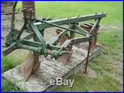 3 Bottom Plow 3 Point Hitch