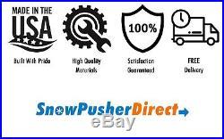 6' Compact Tractor Snow Pusher FREE Shipping John Deere, New Holland, Kubota