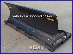 96 FFC 5700 SNOW PLOW ATTACHMENT John Deere Skid-Steer Loader Angle Blade 8