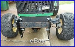 Adapter Brackets 54 Blade Plow For 140 318 To John Deere 425 445 455 Tractor