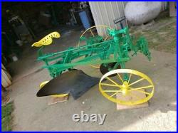 Antique John Deere 269 2 Bottom Horse Drawn Plow