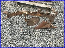 BRINLY 8 Plow INTEGRAL SLEEVE HITCH (early Style) CUB CADET JOHN DEERE