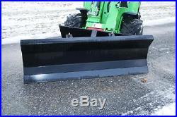 John Deere Plow Brand New 66 Quick Attach Snow Plow Kioti John