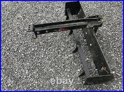 Brinly Rear Scraper Blade Bs-381 Integral Sleeve Hitch Cub Cadet John Deere
