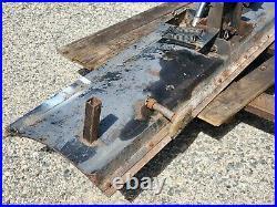 Custom Built Snow Blade/Plow 8' Wide Built for John Deere F1145