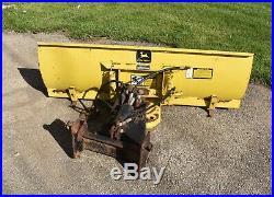 Deere 318 Tractor 54 SNOW PLOW GRADER BLADE 300 Series Hydraulic Mower Part