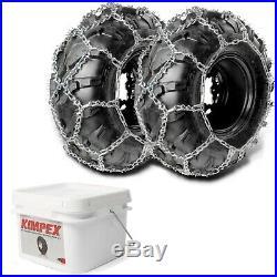Diamond Tire Chains V-Bar Snow Plow 26x10x12 26x12x12 27x9x12 27x10x14 More Size