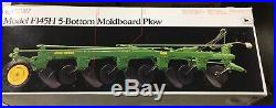 ERTL John Deere Model F145H 5-Bottom Moldboard Plow Precision #6 1/16 NIB
