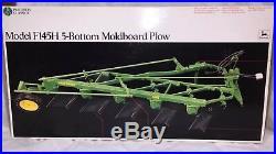 ERTL John Deere Model F145H 5-Bottom Moldboard Plow Precision #6 1/16 NIB SEALED