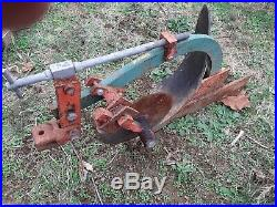 Economy Power King Cub John Deere Sears Brinley tractor GARDEN PLOW NICE