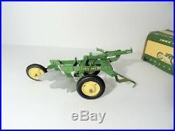 Ertl Eska John Deere Toy Plow 2 bottom 1950's 1/16 Scale Original Box