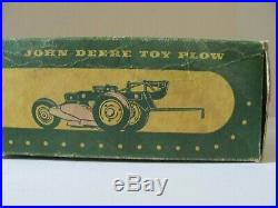 Eska John Deere two (2) bottom plow with box