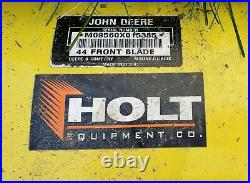 FREE SHIPPING! John Deere X300 Series 44-in Snow Plow Front Tractor Blade Pack