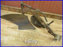 Good Used Brinly Hardy Co. 10 Garden Tractor Plow Sleeve Hitch John Deere Cub +