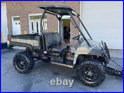 Hunter Camo John Deere Gator 825i, 4x4, Eps, Brand New 4500 Winch, Led, Plow