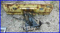 JOHN DEERE 420 Lawn Tractor Dual Hydraulic 54 Front Plow blade