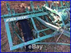 JOHN DEERE CC field cultivator Antique Tractor plowing machinery
