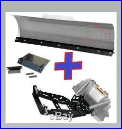 JOHN DEERE GATOR XUV 825I 2011-2015 KFI UTV 66 Snow Plow Combo Kit