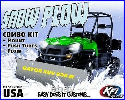JOHN DEERE GATOR XUV 835M ALL KFI UTV 66 Snow Plow Combo Kit