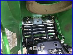 JOHN DEERE GT 245. RIDING LAWN TRACTOR 48 SNOW PLOW, FEMCO CAB, KAWASAKI 20hp