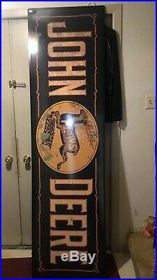 JOHN DEERE SMALTS PLOW SIGN 6 Vintage Look Farm Advertising No Others Anywhere