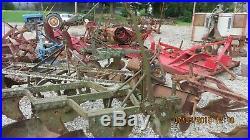Jd John Deere Three Bottom Tractor Plow