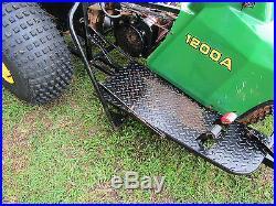 John Deere 1200A Sand Trap Rake Front Plow Infield Groomer