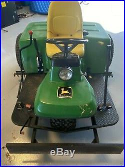 John Deere 1200A Sand Trap Rake Front Plow Infield Groomer TEXAS