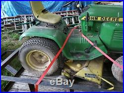 John Deere 212 Lawn Tractor with Kohler Engine and Plow local Pick up Not Runnin