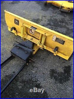 John Deere 245 260 265 285 320 Lawn Mower Tractor 46 Front Snow Plow Blade