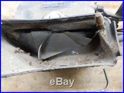 John Deere 316,318 Garden Tractor- Plow Flow Bagger Unit-USED