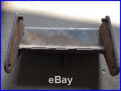 John Deere 318 330 317 322 332 Front Mount 54 Snow Plow Blade Bracket AM102948