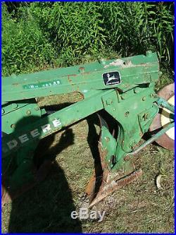 John Deere 3 three bottom plow 3 point hitch Trip