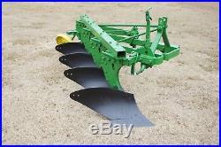 John Deere 3pt Hitch F125 14 4 Bottom Moldboard Plow Spring Trip 4020 Tractor