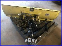 John Deere 400 54 Front Power Angle Blade Snow Plow Lawn Garden Tractor