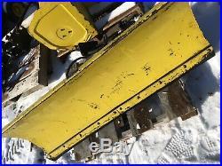 John Deere 400 Lawn Mower Plow Attachment