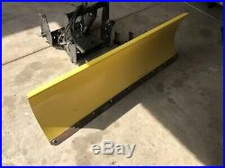 John Deere 425 445 455 Model 54 Power Angle Snow Blade Plow & Quick Hitch