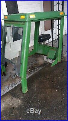 John Deere 425 445 455 Tractor Mower Cab Enclosure For Snow Blower / Plow