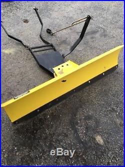 John Deere 42 GT235 LX266 LX277 LX288 LX280 Lawn Mower Front Snow Plow Blade