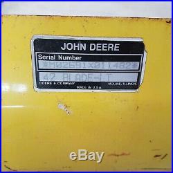 John Deere 42 snow plow blade M02691X011482 for lawn tractors