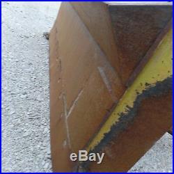 John Deere 450G 550G 650G dozer V blade and C frame Plow 8 Ft