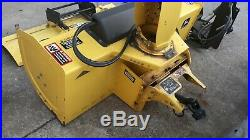 John Deere 47 Snow Blower Thrower PACKAGE 54 Plow Quick Attach 425 445 455